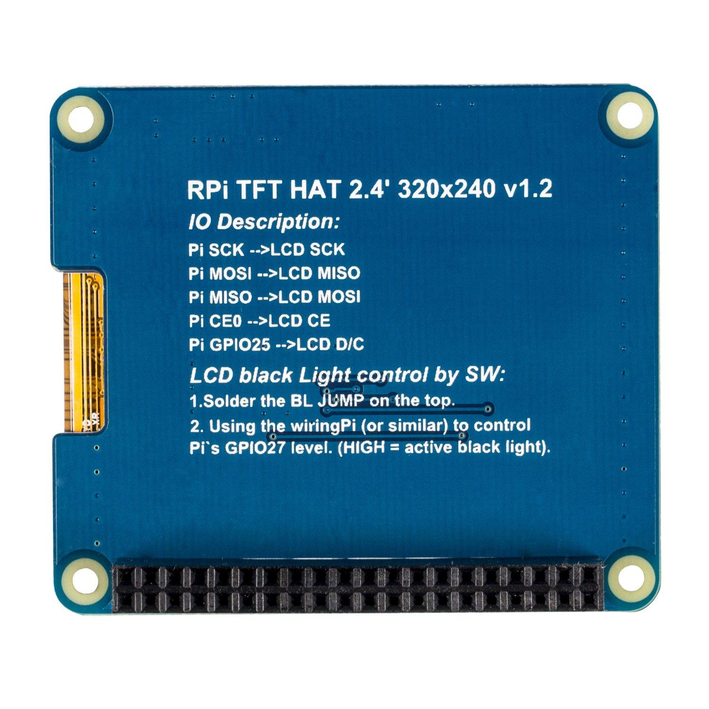 Sunfounder Raspberry Pi 24 Inch Tft Screen Lcd Display Wiringpi I2c Computer Zubehr