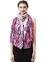 Glovin  女式 写意花卉澳毛围巾 G15024012