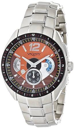 e3390025af Amazon | [バガリー]VAGARY 腕時計 VS0-110-91 メンズ | 国内メーカー ...