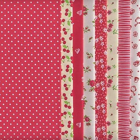 BLACK WHITE Meter//Fat Quarter//FQ//Square Cotton Fabric Basic Sewing Quilt Stars
