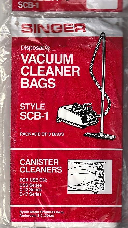 Amazon.com: Singer bolsas de aspiradora – -scb-1 ...