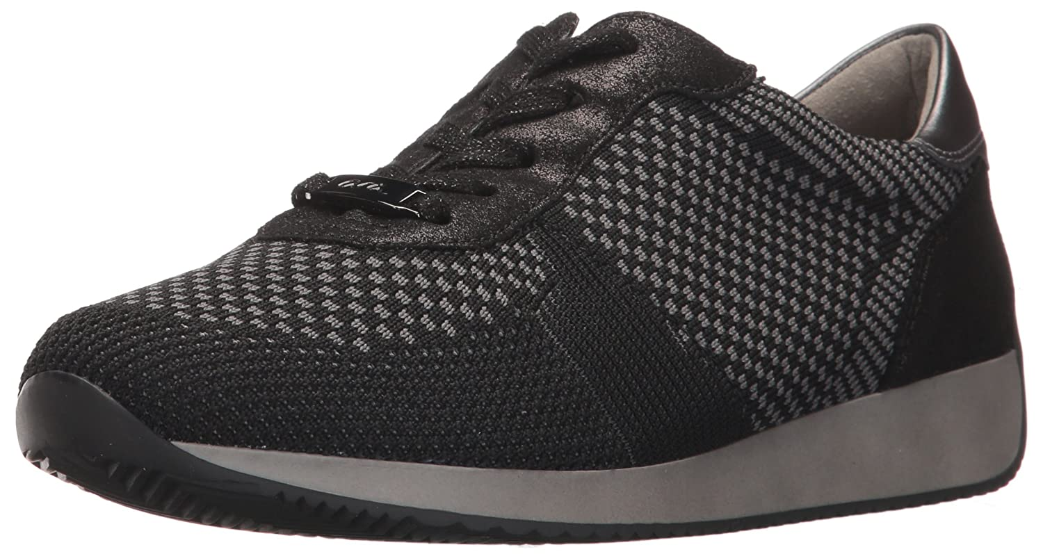 ara Women's Lilly Sneaker B06XHPXVB3 6.5 B(M) US|Black Woven