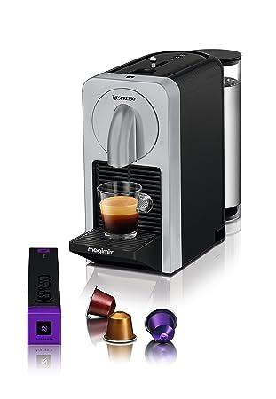 Nespresso Magimix Prodigio M135-11375 Independiente Totalmente automática Máquina espresso 0.8L Plata - Cafetera (Independiente, Máquina espresso, 0,8 L, ...