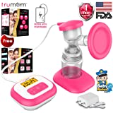 Trumom Elite Electric Breast Feeding Pump (Pink)