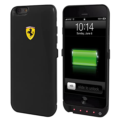 wholesale dealer 127ed 35b9b CG Mobile Ferrari Case for iPhone 6 Power Bank(Black)