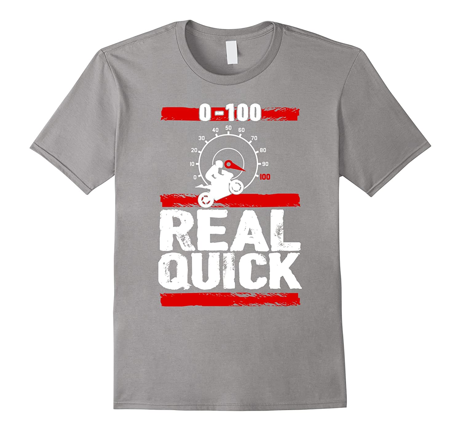 Zero to One Hundred Real Quick - Superbike T-shirt-TH