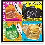 Peter Thomas Roth Made To Mask 4-Piece Mask Kit, Facial Masks Beauty, Facial Mask Skin Care, 4 Count