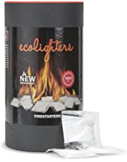 Ecolighters Firelighters - sachets for BBQ, Fire Pit, Fireplaces - Firestarters