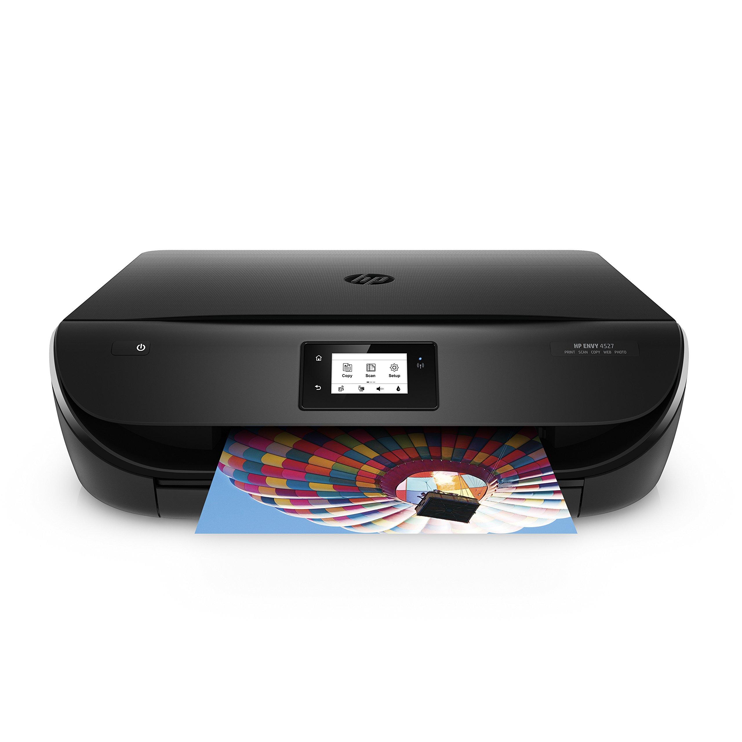 HP J6U61B#BHC Envy 4527 All-in-One Printer, Black