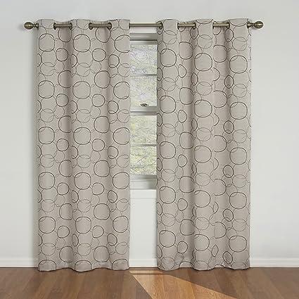 linen curtains white inches long blackout panels curtain set