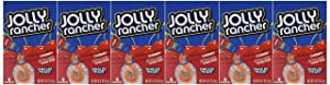 Jolly Rancher Singles-To-Go Sugar Free Cherry Drink Mix, 6-ct (Pack of 6)