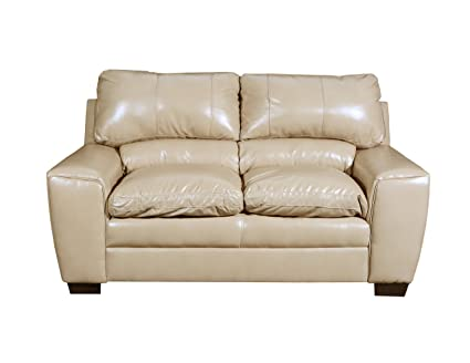 Pleasant Amazon Com Simmons Upholstery 9085 02 Medusa Ivory Loveseat Inzonedesignstudio Interior Chair Design Inzonedesignstudiocom