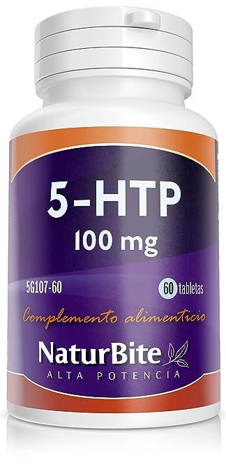 NaturBite 5-HTP, 100 mg - 60 Cápsulas: Amazon.es: Salud y cuidado personal