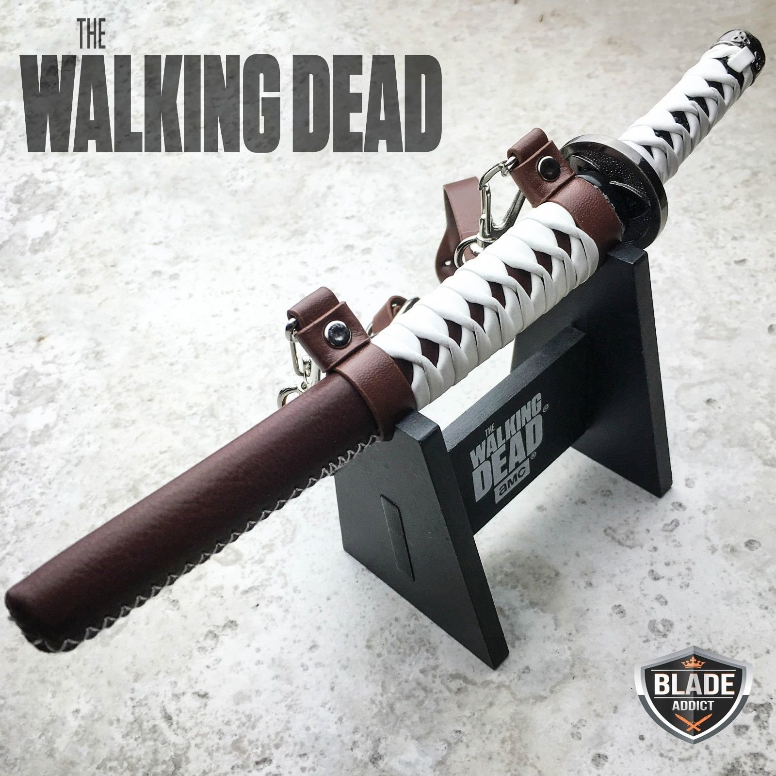 New AMC THE WALKING DEAD MICHONNE KATANA SWORD LETTER OPENER OFFICIALLY LICENSED- Great For Fun And Practical Use