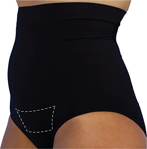 b02c15502d UpSpring Baby C-Panty C-Section Recovery Underwear with C-Section Scar  Healing  Amazon.co.uk  Clothing