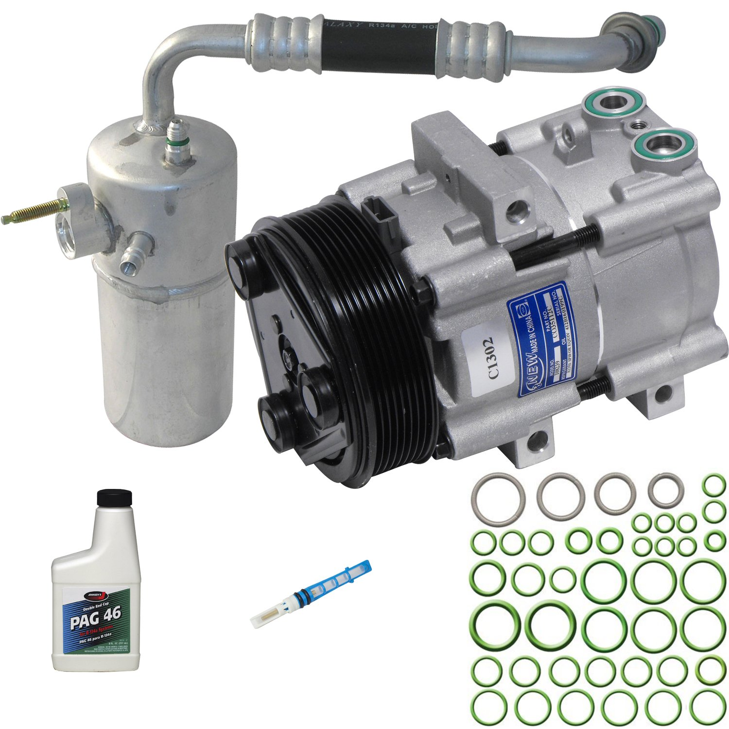Universal Air Conditioner KT 4153 A/C Compressor and Component Kit UAC