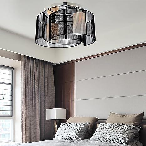 Fácil y graziöse 2 unidades lámpara de techo para salón ...