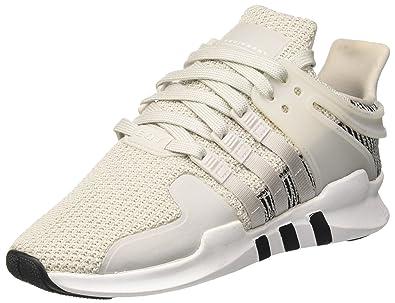 adidas EQT Support ADV, Chaussures de Gymnastique Homme, Blanc Cassé (FTWR White/FTWR White/Core Black), 36 2/3 EU