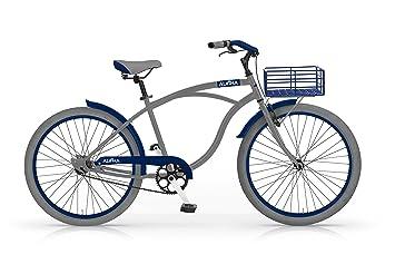 MBM Aloha - Bicicleta de Paseo para Hombre, Cuadro de Acero Talla 47, Freno