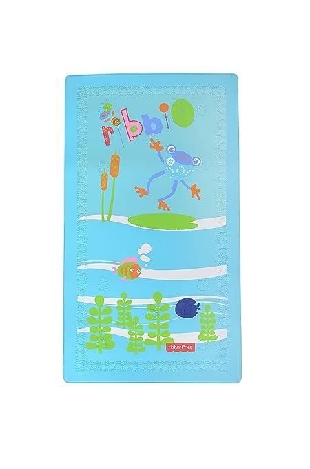 Fisher Price - Alfombrilla infantil para bañera (cambia de color con la temperatura).