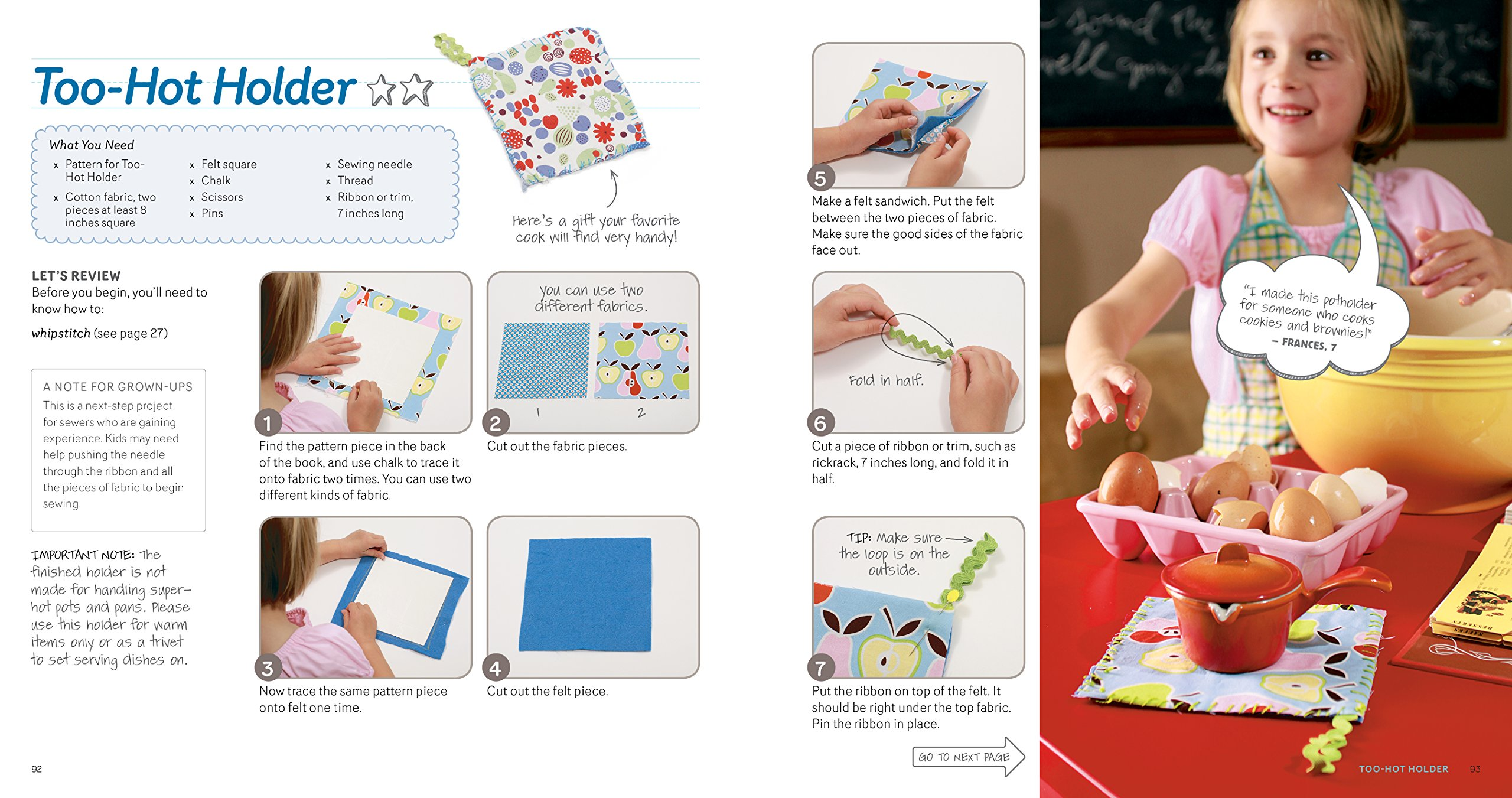 Sewing School ®: 21 Sewing Projects Kids Will Love to Make: Andria ...