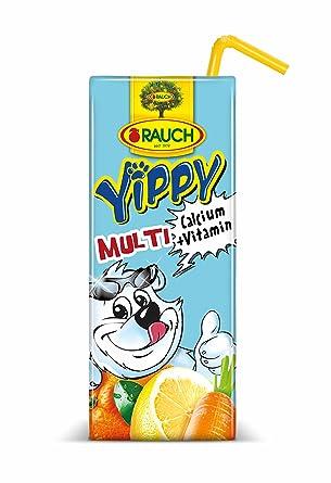 Rauch - Yippy Multi Mehrfruchtsaftgetränk PET - 0,33l inkl. Pfand ...