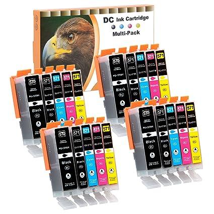 D&C 20er Set Cartuchos de impresora compatibles para Canon ...