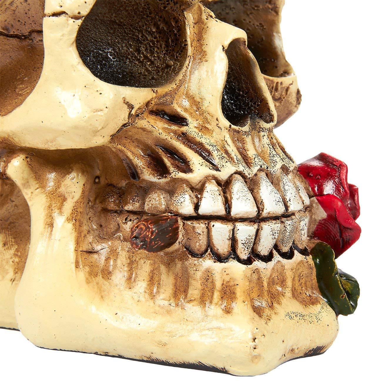 Romantik Mobel Dekoration | Juvale Skull Prop Realistic Skull Model Resin Skull Decoration