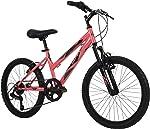 Huffy Kids Hardtail Mountain Bike for Girls, Stone Mountain 20 inch