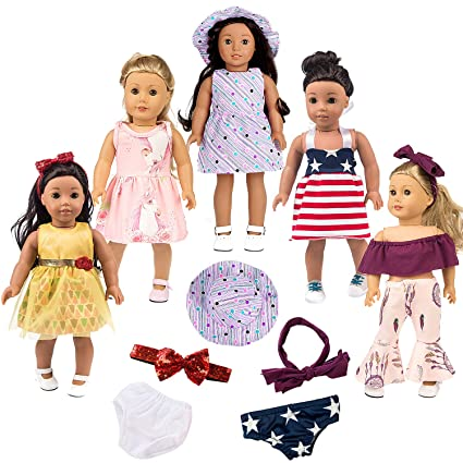 New American Girl Bitty Baby Replacement Head Hair Band Only for Birthday Outfit
