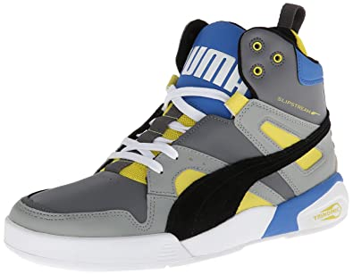 521863c864b0e PUMA Men's Ftr Trinomic Slipstream Lite Sneaker, Steel Grey/Black/Blue, 9 M  US