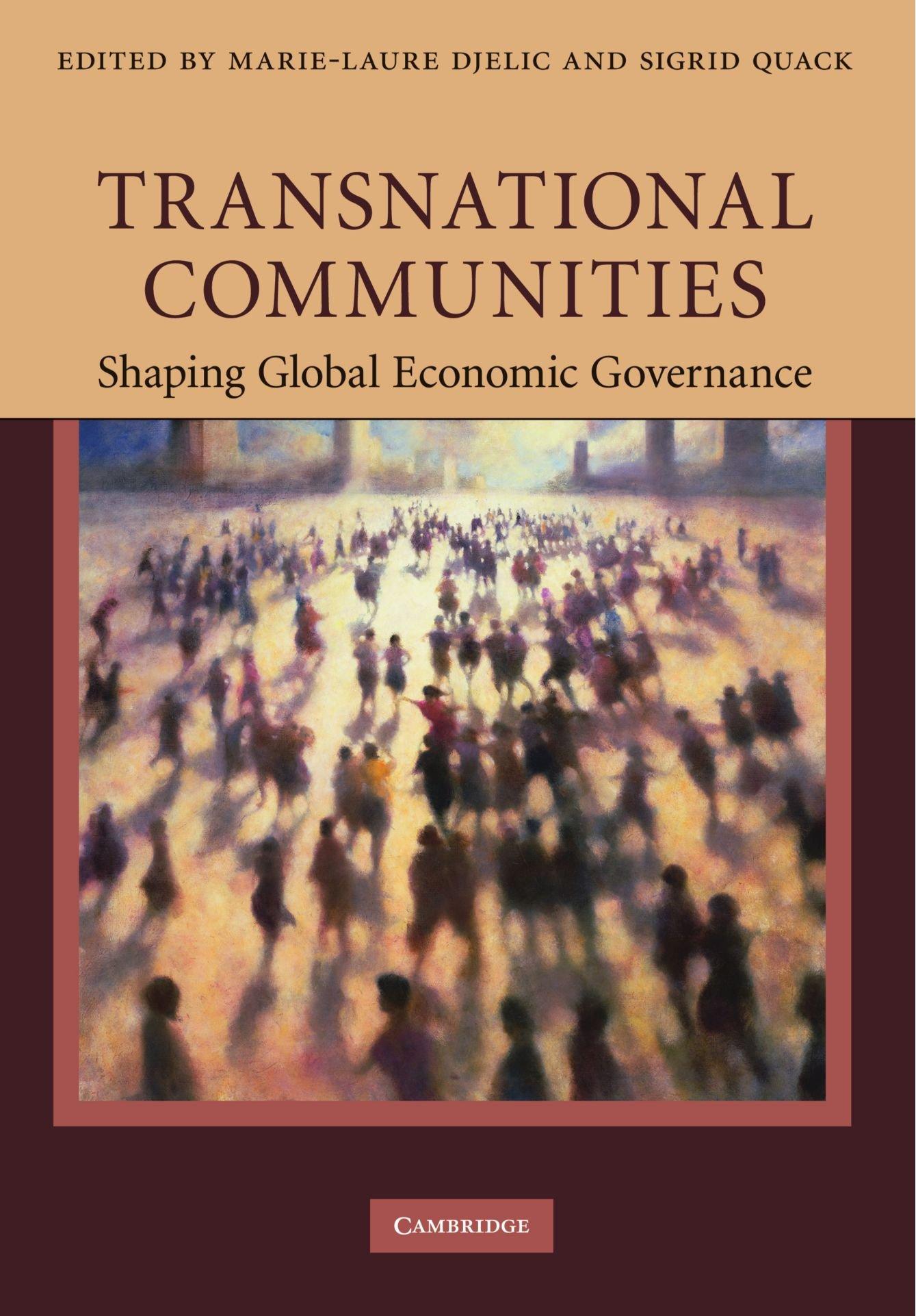 Download Transnational Communities: Shaping Global Economic Governance ebook