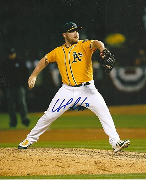 21665b910 Image Unavailable. Image not available for. Color  Signed Liam Hendriks  Photo - 8x10 OAKLAND ATHLETICS ...