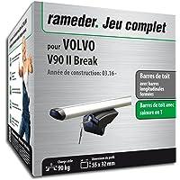 Rameder Pack Barres de Toit Pick-Up pour Volvo V90 II Break (111287-36540-56-FR)