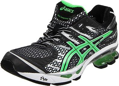 Asics - Mens Gel-Kinetic 4 Running Shoes, UK: 8.5 UK, Black