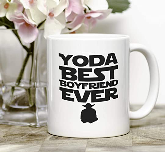 Amazon Com Boyfriend Mug Yoda Best Boyfriend Ever Mug Birthday