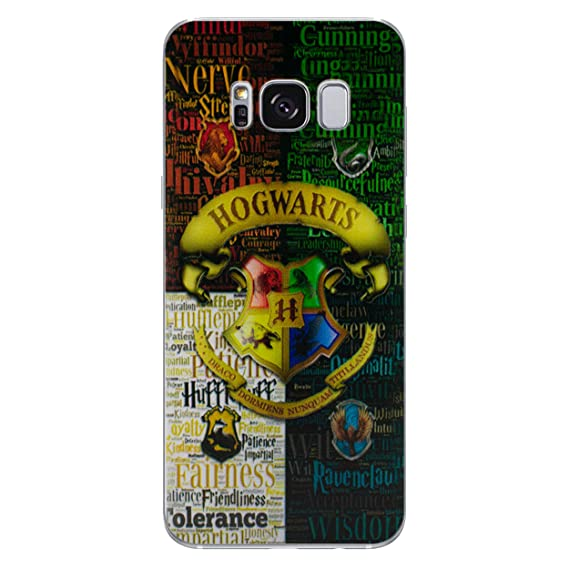 half off 0eadf 91fda Galaxy S7 Edge Harry Potter Silicone Phone Case/Gel Cover for Samsung  Galaxy S 7 Edge (S7 Edge/G935) / Screen Protector & Cloth/iCHOOSE/Hogwarts  ...