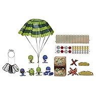 Little Green Men 8 Battle Pack Series 1 Style 4 Figures