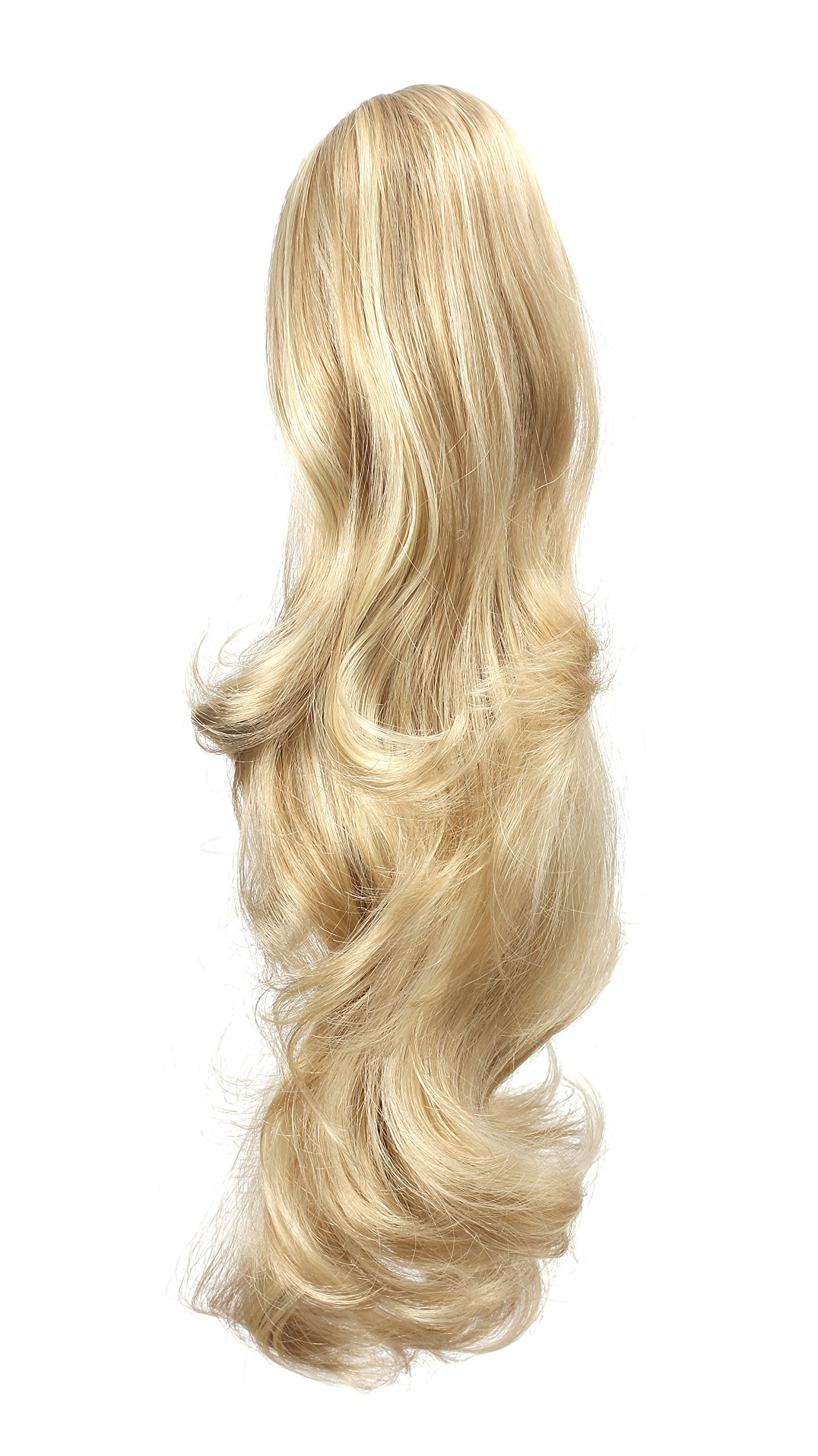 OneDor 20'' Curly Synthetic Clip In Claw Drawstring Ponytail Hair Extension Synthetic Hairpiece 190g with a jaw/claw clip (R1488H) by Onedor