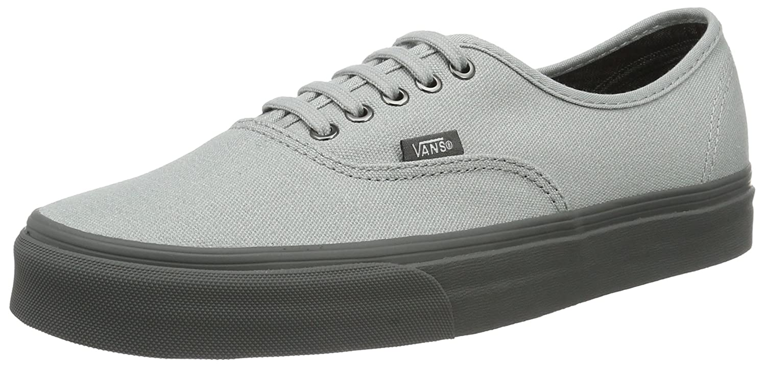 Vans Authentic B01I22CTYM 11.5 D(M) US|High Rise/Pewter
