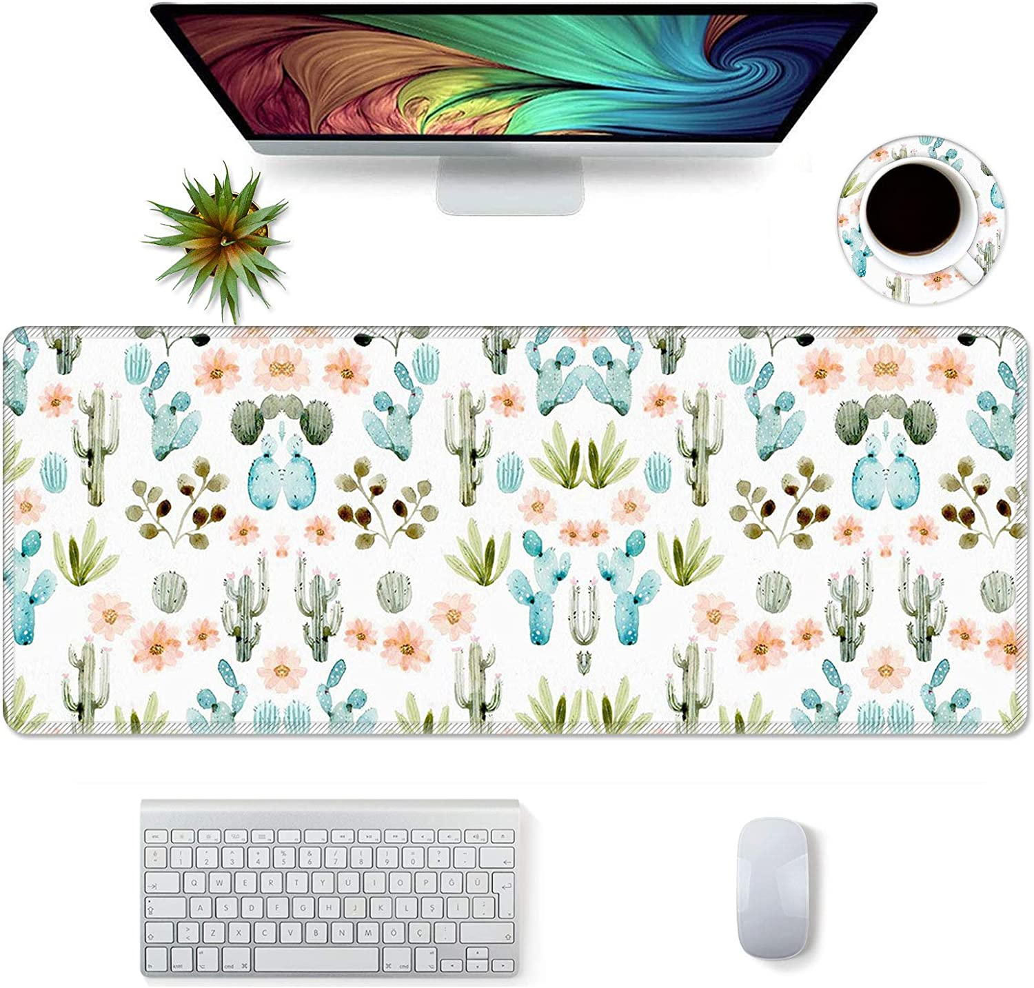 Desk Mat Protector, Extended Mouse Pad 31.5