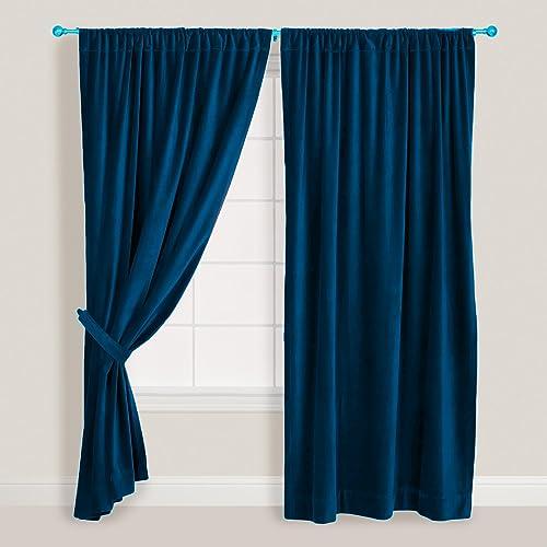 Indiaz trends Velvet Curtain/Drape DOUBLEWIDE