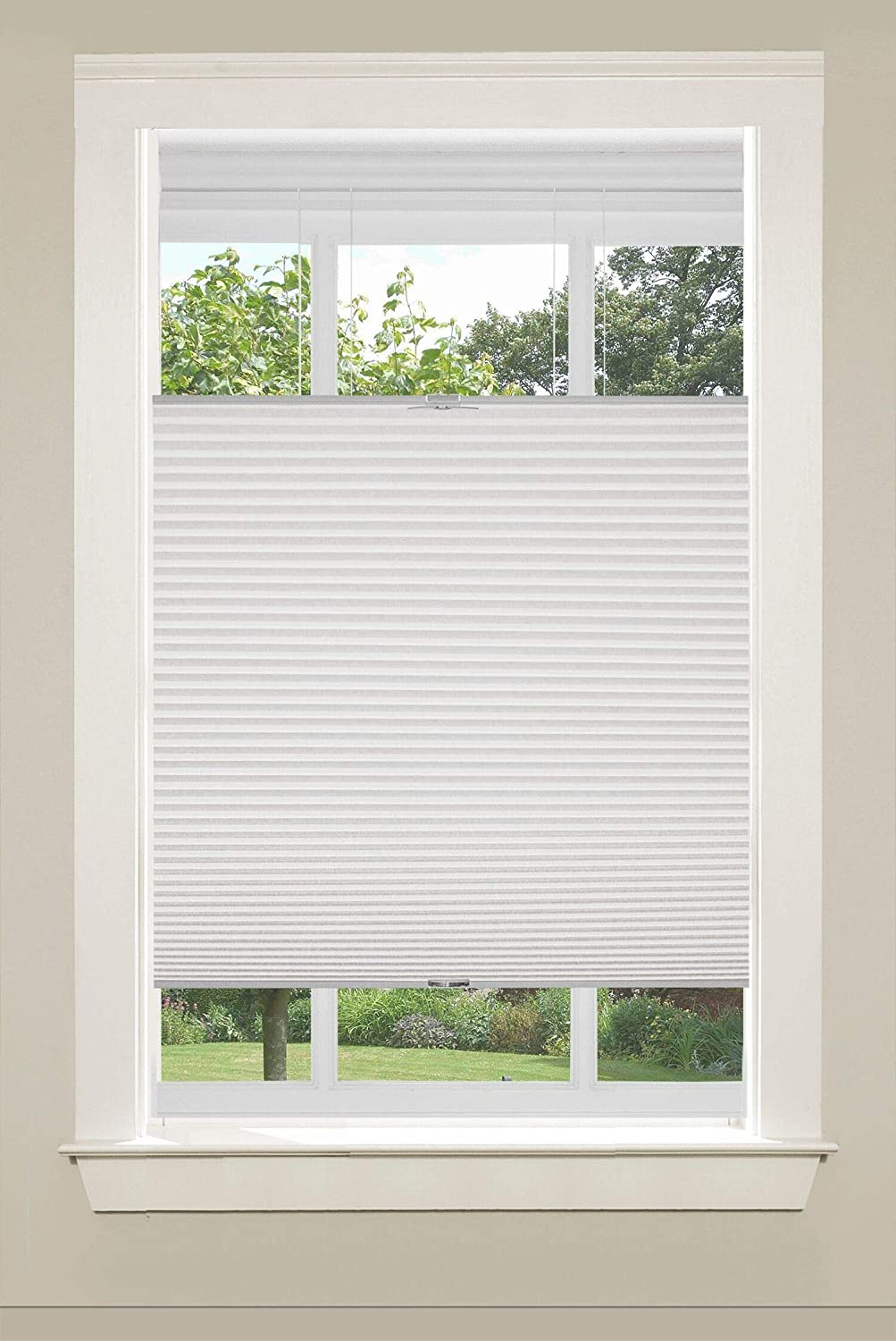 Honeycomb Shades Home Universal Home Fashions Top Down Bottom Up Cordless Cellular Shade 32x64 Ivory