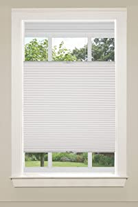"""Universal Home Fashions Top Down/Bottom Up Cordless Cellular Shade, 47""""x64"""", White"""