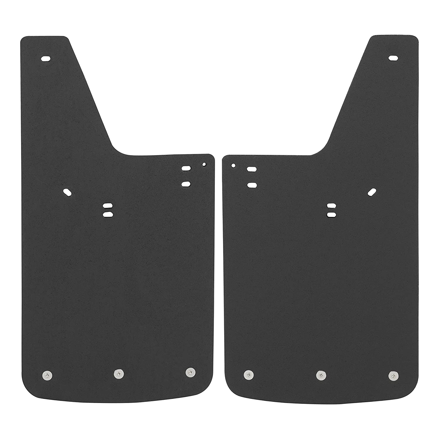 Lincoln Mark LT LUVERNE 250423 Front or Rear 12 x 23-Inch Textured Rubber Mud Guards Black 12 x 23 for for Select Ford F-150