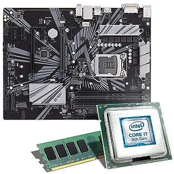 Intel Core i7 – 8700/placa base MSI Z370 a Pro Bundle/8 GB