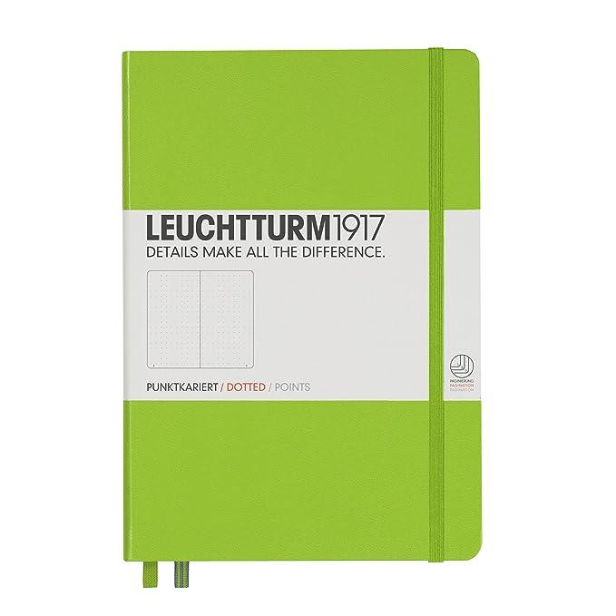 150 opinioni per Leuchtturm 1917, taccuino (A5), copertina rigida, 249 pagine A puntini Dotted