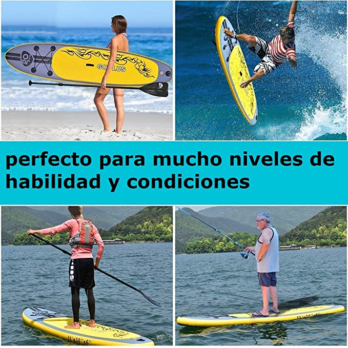 COSTWAY Tablas Paddle Hinchables Remo Surf Board Paddle Board Stand Up Set 335 * 76 * 15cm Inflable: Amazon.es: Deportes y aire libre