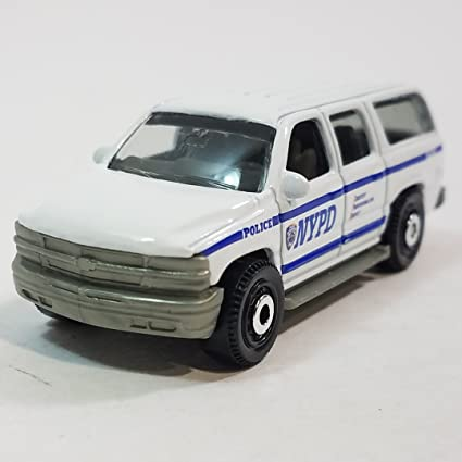 Amazon Com Matchbox Limited New York White Nypd Police 2000 Chevy
