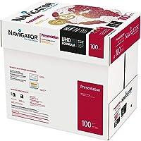 Navigator Presentation Carta Premium per ufficio, Formato A4, 100 gr, Confezione da 5 Risme da 500 Fogli